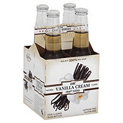 WBC Craft Sodas Vanilla Cream, Glass Bottles 4 PK