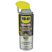 WD-40 Specialist Spray & Stay Gel Lubricant, No-Drip Formula