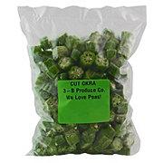 We Love Peas! Frozen Cut Okra
