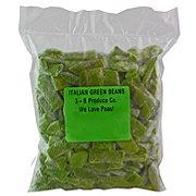 We Love Peas! Frozen Italian Green Beans