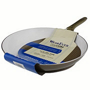WearEver Pure Living 12 in Ceramic Fry Pan, Champagne