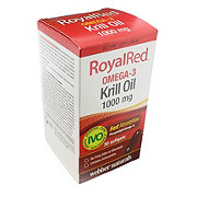 Webber Naturals Royal Red Krill Oil Softgels