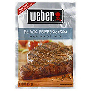Weber Black Peppercorn Marinade Mix