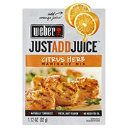 Weber Just Add Juice Citrus Herb Marinade Mix