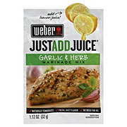 Weber Just Add Juice Garlic and Herb Marinade Mix