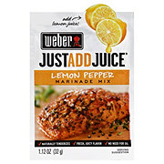 Weber Just Add Juice Lemon Pepper Marinade Mix