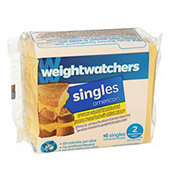 Weight Watchers American Singles Cheese Product