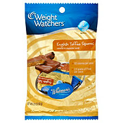 Weight Watchers English Toffee Squares Candies