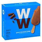 Weight Watchers Giant Chocolate Fudge Ice Cream Bars