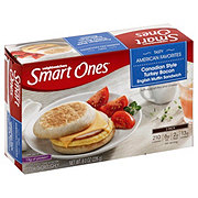 Weight Watchers Smart Ones Canadian Style Bacon English Muffin Sandwich