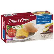 Weight Watchers Smart Ones Mini Cheeseburger