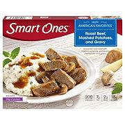 Weight Watchers Smart Ones Smart Creations Roast Beef Mashed Potatoes and Gravy
