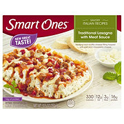 Weight Watchers Smart Ones Traditional Lasagna with Meat Sauce
