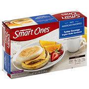 Weight Watchers Smart Ones Turkey Sausage English Muffin Sandwich
