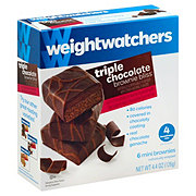 Weight Watchers Triple Chocolate Brownie Bliss