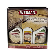Weiman Granite and Stone Complete Care Kit