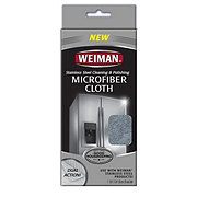 Weiman Microfiber Stainless Steel Cleaning & Polishing Cloth