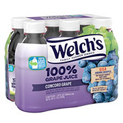 Welch's 100% Grape Juice 10 oz Bottles