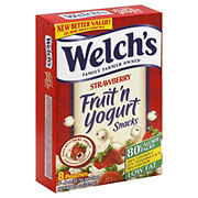 Welch's Strawberry Fruit 'N Yogurt Snacks