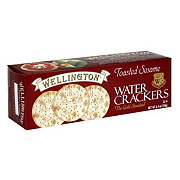Wellington Toasted Sesame Water Crackers