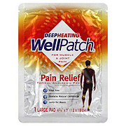 WellPatch Pain Relief Topical Analgesic Large Pad