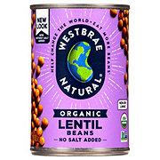 Westbrae Natural Organic Lentil Beans