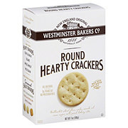 Westminster Bakers Co. Hearty Round Crackers