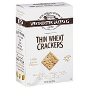 Westminster Bakers Co. Thin Wheat Crackers