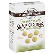 Westminster Bakers Co. White Cheddar Romano Crackers
