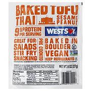 WestSoy Baked Tofu Thai Seasame Peanut