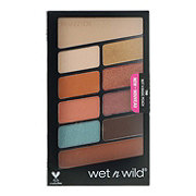 Wet n Wild Color Icon Eyeshadow 10 Pan Palette Not A Basic Peach