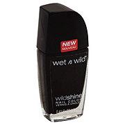 Wet n Wild Wild Shine Nail Enamel, Black Creme