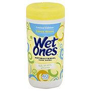 Wet Ones Antibacterial Citrus Scent Hand Wipes