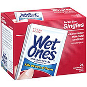 Wet Ones Antibacterial Fresh Scent Singles Hand Wipes