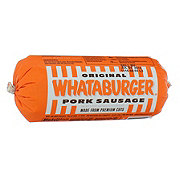 Whataburger Original Pork Sausage