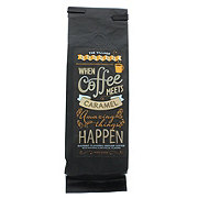 When Coffee Meets Caramel Gourmet Flavored Coffee