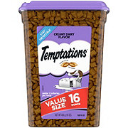 Whiskas Temptations Cat Treats Creamy Dairy, Value Size