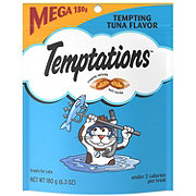 Whiskas Temptations Cat Treats, Tempting Tuna Mega Size