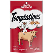 Whiskas Temptations Hearty Beef Treats for Cats