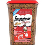 Whiskas Temptations Mixups Backyard Cookout Cat Treats,Value Size
