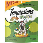 Whiskas Temptations Mixups Catnip Fever Cat Treats, Mega Size