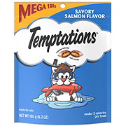 Whiskas Temptations Savoury Salmon Flavour Treats For Cats
