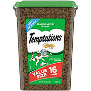 Whiskas Temptations Seafood Medley Cat Treats, Value Size