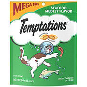 Whiskas Temptations Seafood Medley Flavor Treats for Cats