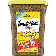 Whiskas Temptations Tasty Chicken Cat Treats, Value Size