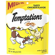 Whiskas Temptations Tasty Chicken Flavour Treats For Cats, Mega Size