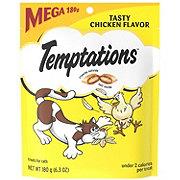 Whiskas Temptations Tasty Chicken Flavour Treats For Cats, Mega Size