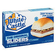 White Castle Microwaveable Hamburgers
