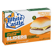 White Castle Microwaveable Jalapeno Cheeseburgers