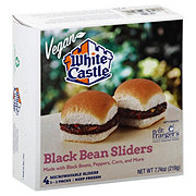 White Castle Vegan Black Bean Sliders